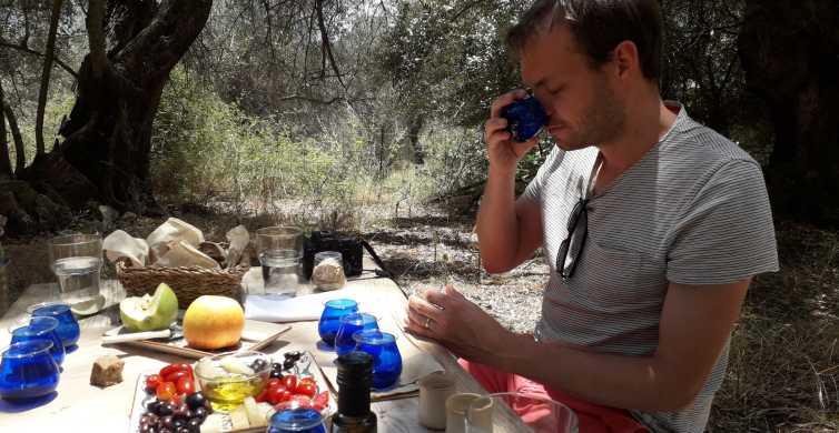 Crete: Olive Oil Tasting with Cretan Food Pairing