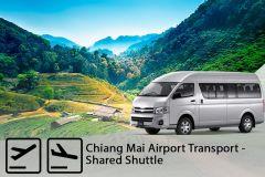 Aeroporto de Chiang Mai: transporte compartilhado unidirecional de / para o hotel