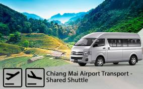 Chiang Mai Airport: One-Way Shared Transfer to/from Hotel