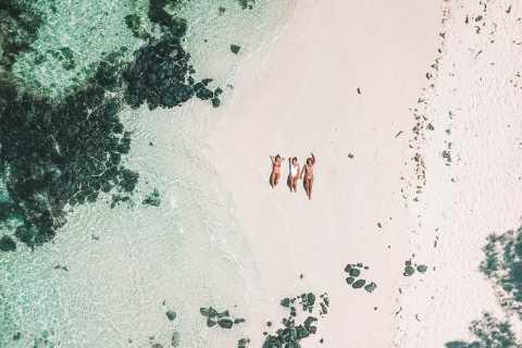 Mauritius: Instagramtur med motorbåt till sydöstra lagunen