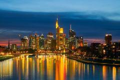 Frankfurt: excursão guiada de bicicleta