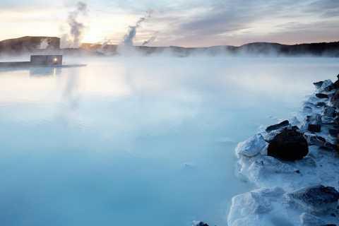 Ab Reykjavík: Ticket & Transfer zur Blauen Lagune