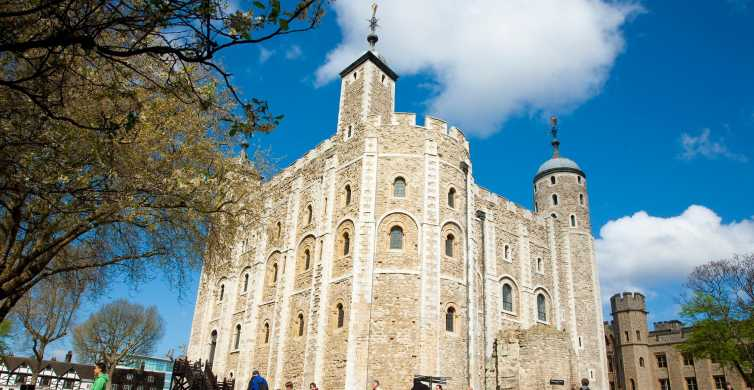 London: Hop-on Hop-off Bus, Tower of London & River Cruise