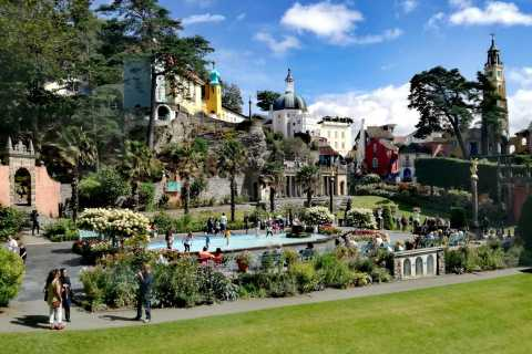 From Llandudno: Portmeirion, Snowdonia, and Castle Tour