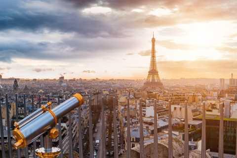París: combo de Torre Eiffel, Versalles y Arco del Triunfo
