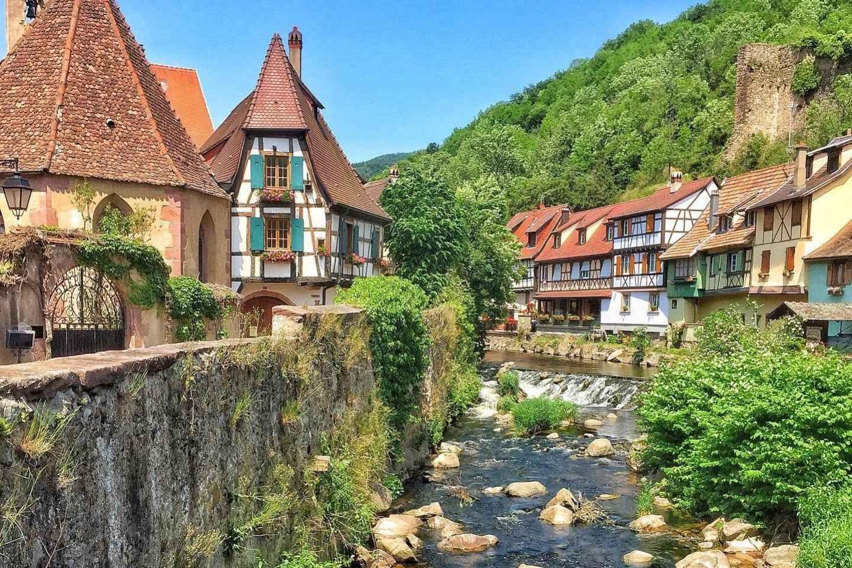 Ab Straßburg: Tagestour entlang der Elsässer Weinstraße