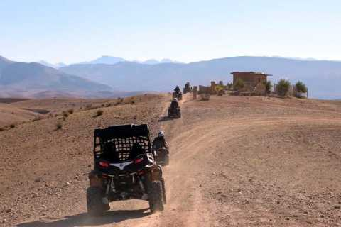 Marrakesh: Agafay Desert Quad & Camel Tour With Dinner