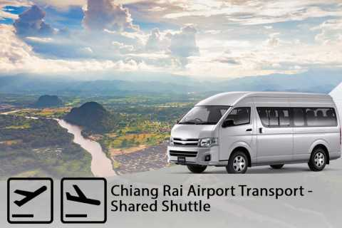 Chiang Rai Airport: 1-Way Shared Transfer to/from Hotel