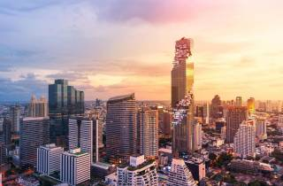 King-Power-Mahanakhon-SkyWalk: Ermäßigte Eintrittskarte