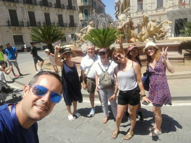 Syracuse, Ortigia en Noto Full-Day Tour van Catania