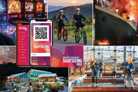 Smoky Mountains: Sightseeing Flex Pass para 30 atracciones