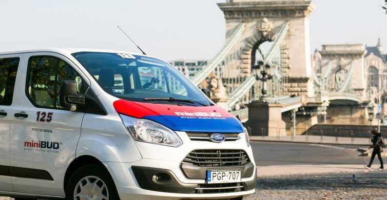 Budapest: Shared Airport Shuttle Bus Transfer