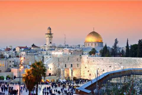 From Tel Aviv: Highlights of Jerusalem & the Dead Sea Tour