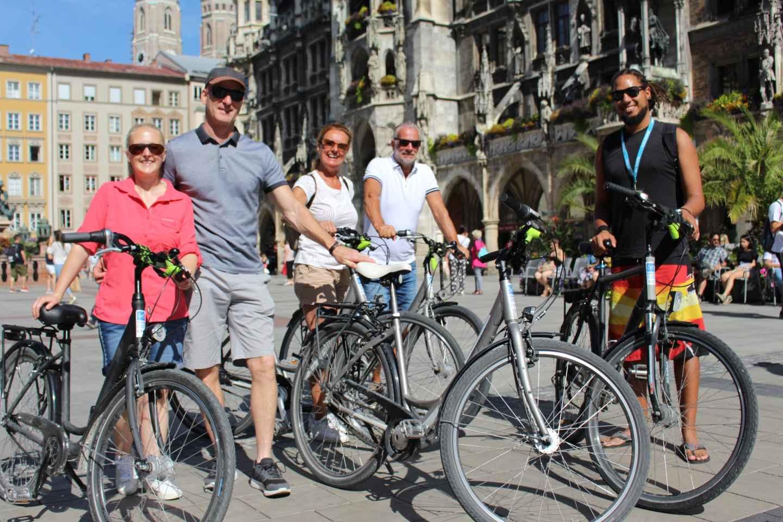 München Fahrrad-Citytour mit einheimischem Reiseführer