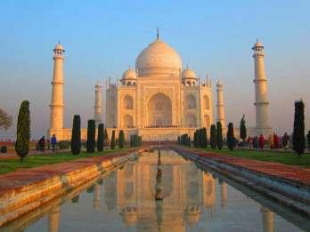 Agra: Private Ganztagestour nach Taj Mahal und Agra Fort