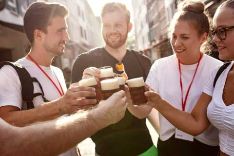 Düsseldorf: Brewery Tour with Alt Beer Tastings