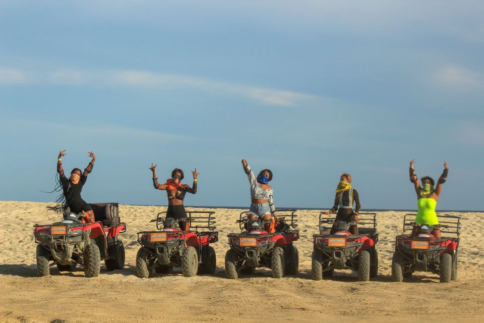 Half-Day Beach & Desert ATV Tour in Cabo San Lucas