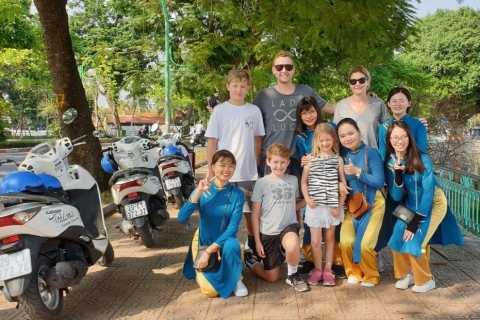 Hanoi: Motorbike City Sights and Red River Delta Tour