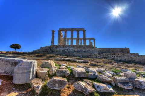 Temple of Poseidon and Cape Sounion Tour: From Athens