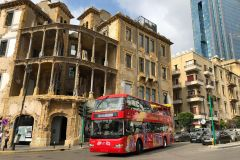 Beirute: Viagem diurna a Byblos, Jeita Grotto e Harissa + excursão de ônibus