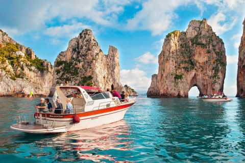 From Sorrento: Capri Island Small Group Boat Excursion