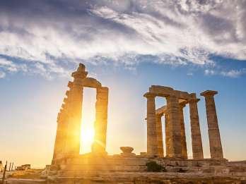 Athen, Akropolismuseum, Kap Sounion, Delphi & Schifffahrt