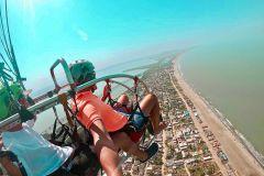Cartagena: Voo de Paratriking a partir da Praia