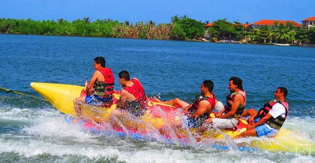 Bentota Water Sports en Galle City Tour vanuit Colombo
