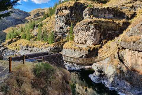 De Cusco: excursão de dia inteiro à ponte de corda de Q'eswachaka