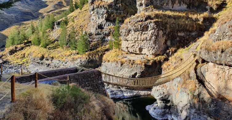 De Cusco: excursion d'une journée au pont de corde de Q'eswachaka