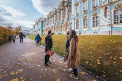 Pushkin: Excursão Guiada ao Palácio de Catarina e Jardins