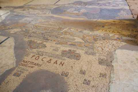 Madaba, Mount Nebo et la Mer Morte