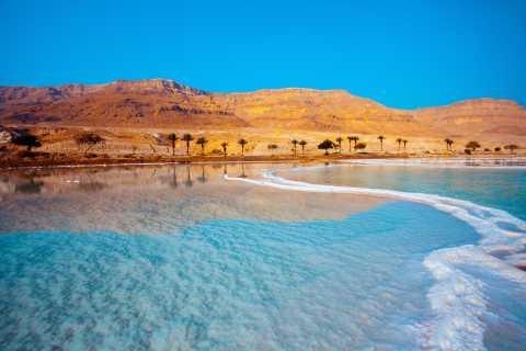 Excursion privée d'une demi-journée à la mer Morte au départ d'Amman