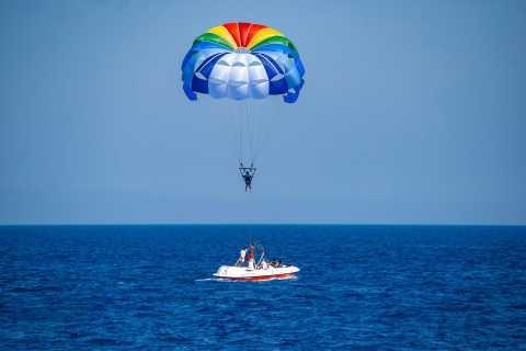 Sharm: Parasailing, Banana Boat & Tube Ride con traslados