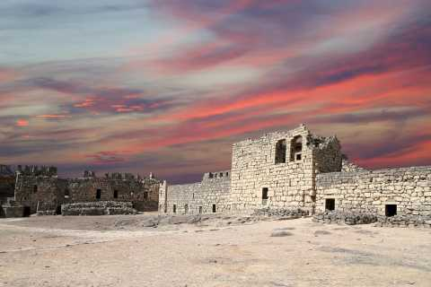 Au départ d'Amman: visite des châteaux du désert de l'est de la Jordanie