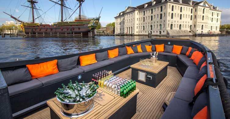 Amsterdam: croisière de luxe sur les canaux de la ville