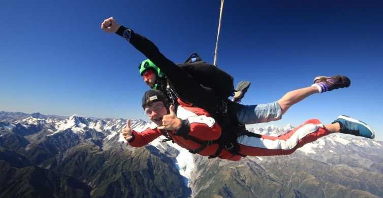 Franz Josef: 13,000ft, 16,500ft or 20,000ft Skydive