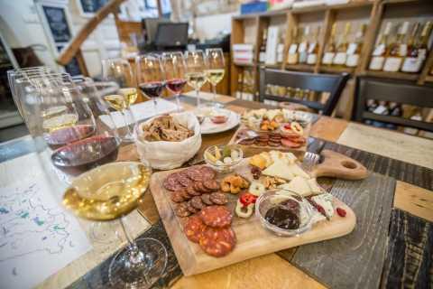 Budapest: degustazione di vino, formaggio e salumi