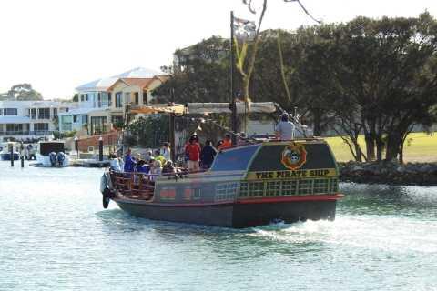 Mandurah: cruzeiro panorâmico de 1,5 horas com almoço em um navio pirata