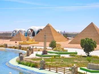 Ab Hurghada: Mini Egypt Park - Tour mit Transfers