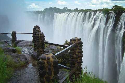 From Kasane: Victoria Falls Day Trip
