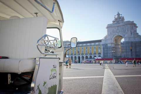 Lisbonne: visite privée en tuk-tuk électrique