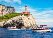 Positano: Bootsausflug in kleiner Gruppe zur Insel Capri