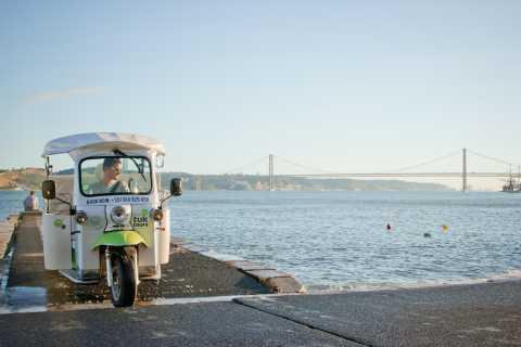 Lisbonne: visite de 2h de Belém et âge d'or en tuk-tuk
