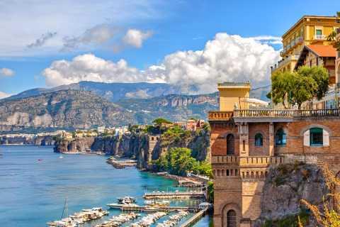 Naples: Sorrento & Pompeii Tour with Skip-the-Line Ticket