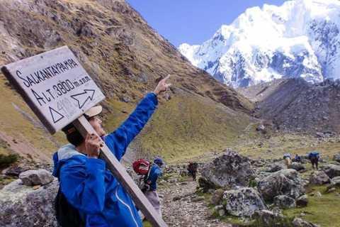 Cusco: 5-day Machu Picchu Trek along the Salkantay Trail