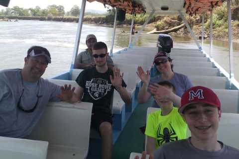 From Jaco: Crocodile River Cruise with Lunch
