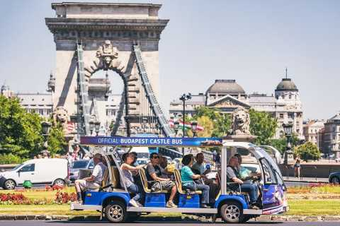 Budapest: Official Buda Castle Electric Hop-On Hop-Off Bus