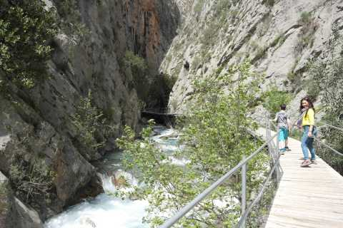 Side: Alanya City, Sapadere Canyon, and Goblin's Cave Tour
