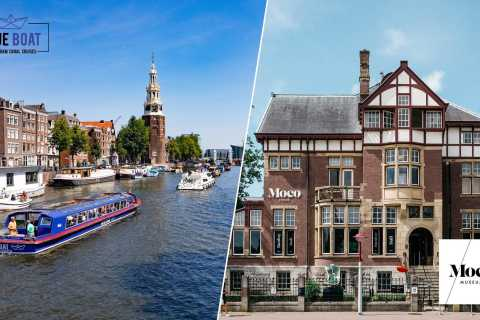 Amsterdam Canal Cruise and Moco Museum Combined Ticket